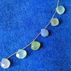 Unbranded Jewelry - Vintage Faceted Teardrop Crystal Necklace
